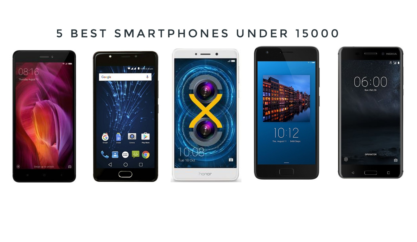Best smartphone in india under 15000