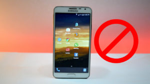 5 Smartphone Things You Should Never Do On Your Android