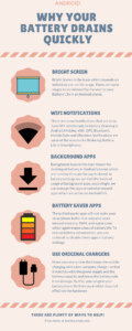 Why Your Battery Drains Quickly on android