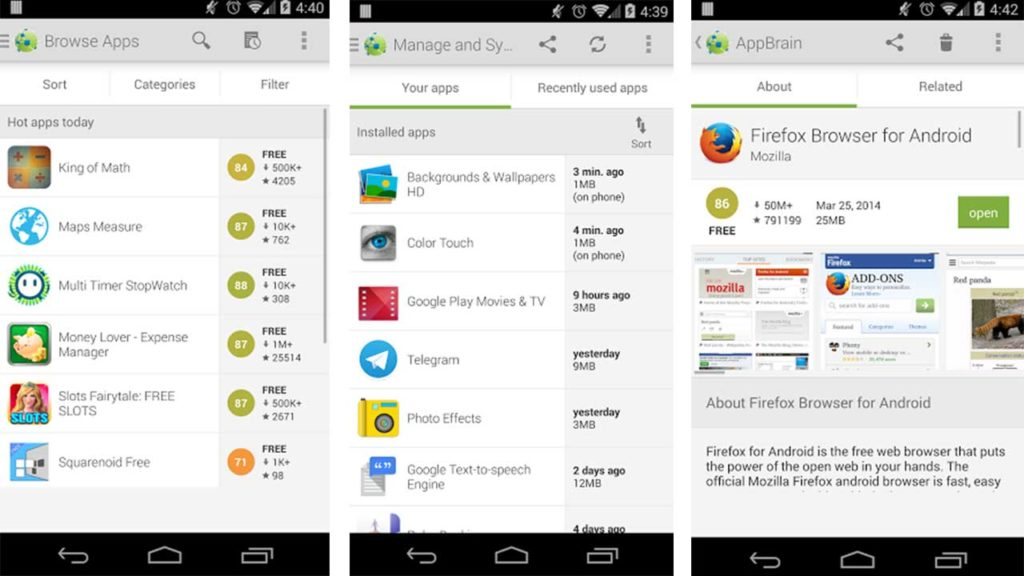 Best Google Play Store Alternatives for Android