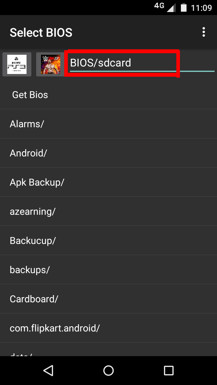 bios file for ps2 emulator for android