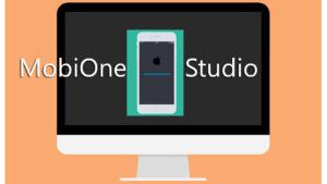MobiOne Studio iOS emulator