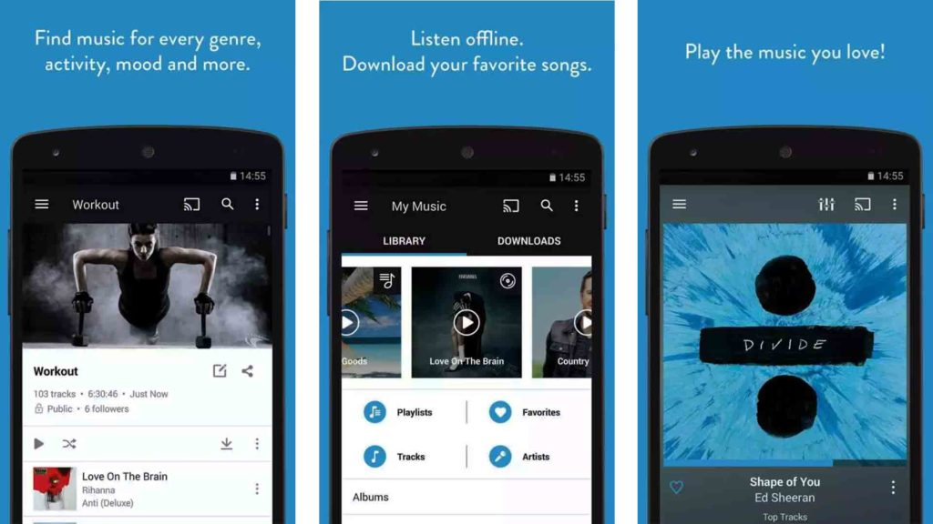 Napster free music downloader app