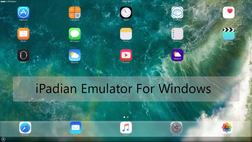 iPadian iOS emulator for windows