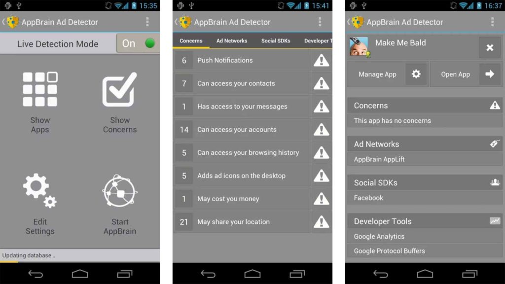 Adblocker app for android