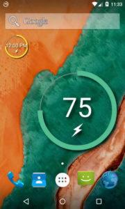 widgets on s6