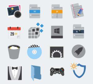OS X Minimalism Icon Pack