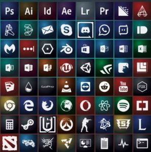 bruce icon pack for windows 10