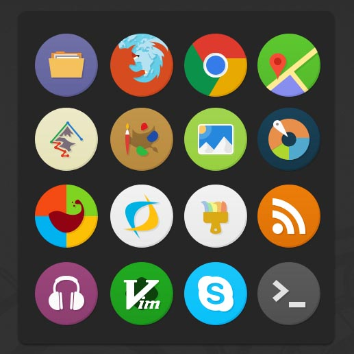 Numix circle for windows 10 icon pack