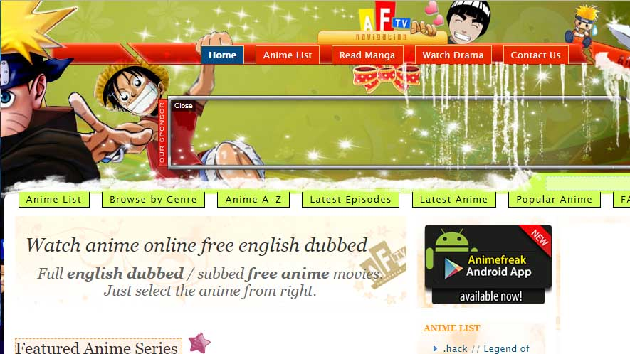 watch anime online websites