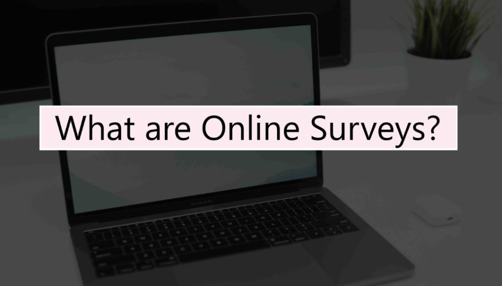 what are online surveys?