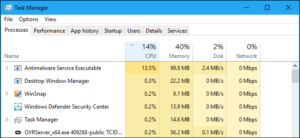 Fix High CPU Usage By Antimalware Service Executable on Windows 10