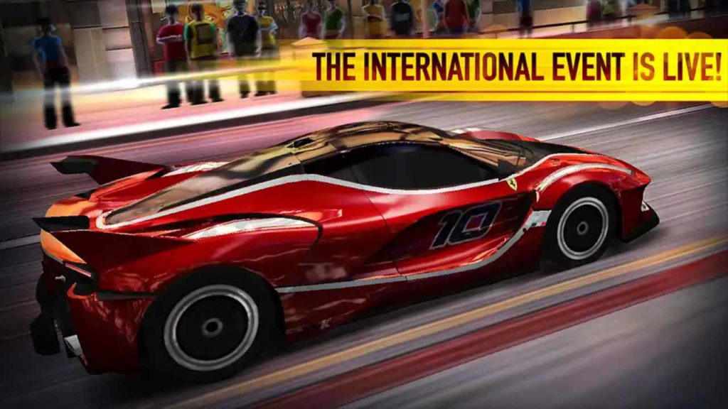 CSR Racing Mod Apk (Unlimited Gold, Silver coins and Money)