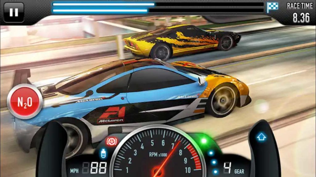 CSR Racing Mod Apk for Android