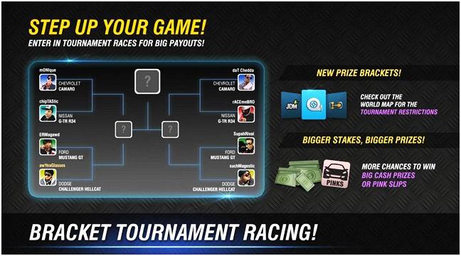 racing rivals hack apk