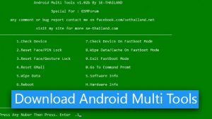 Download Android Multi Tools v1.02b [Latest Versions]