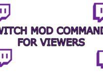 Twitch Mod Commands