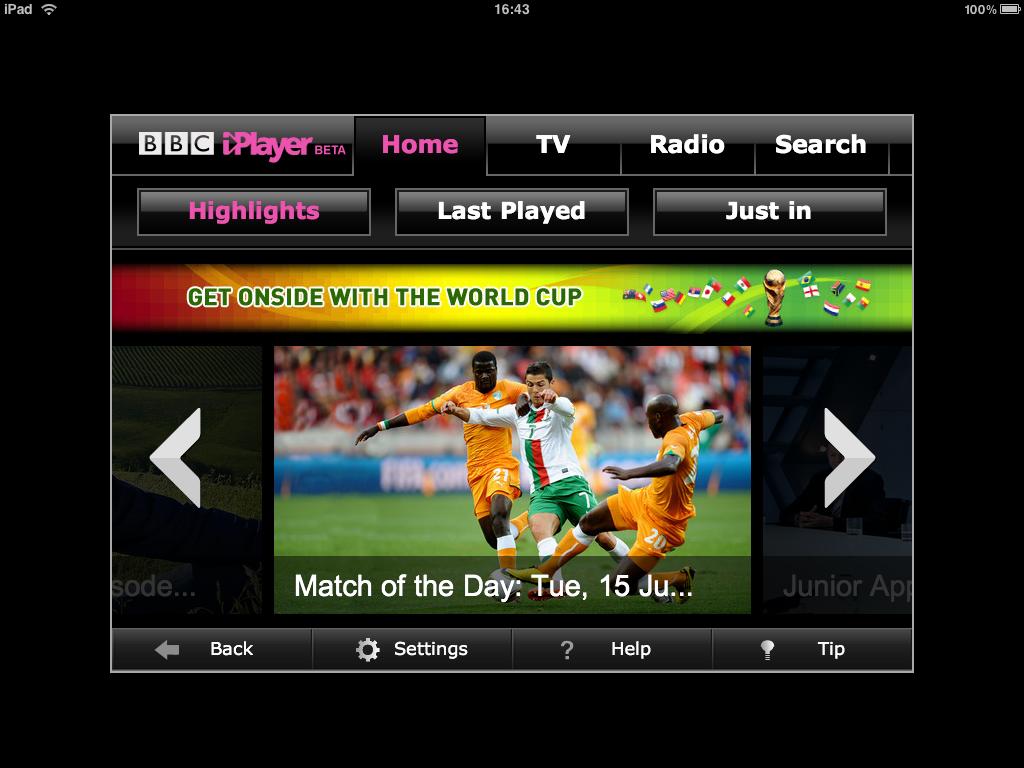 BBC iPlayer Sports Streaming