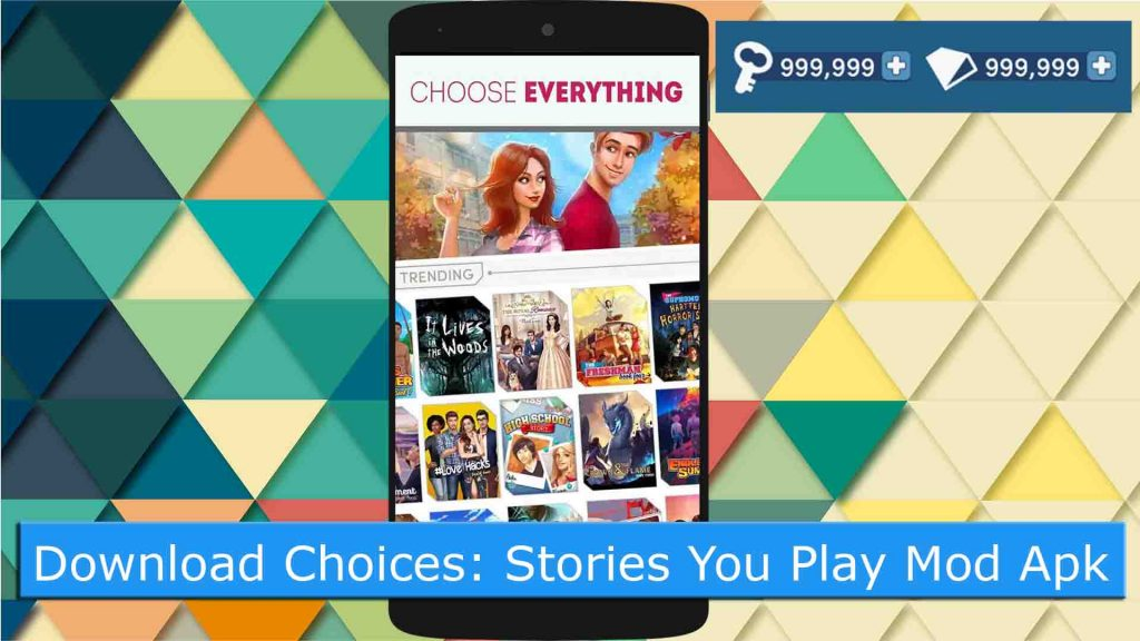 Choices Stories You Play Mod Apk v2.3.4 Unlimited Diamonds & Keys