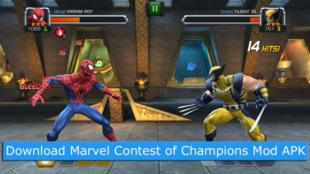 marvel contest of champions hack 2018 apk
