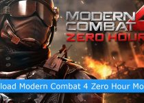 Download Modern Combat 4 Zero Hour Mod Apk + Data