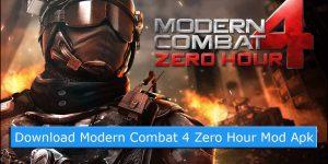 Download Modern Combat 4 Zero Hour Mod Apk + Data (Updated Version)