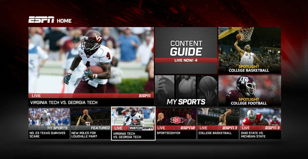 ESPN Live Sports Streaming
