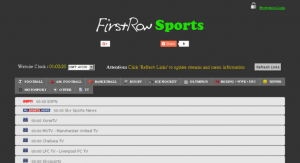 FirstRow Sports Streaming