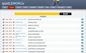 Sport Lemon Live Streaming
