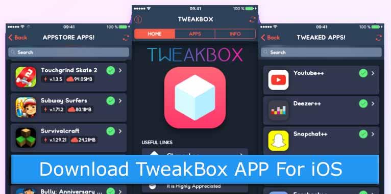 Download TweakBox APP For iOS Devices