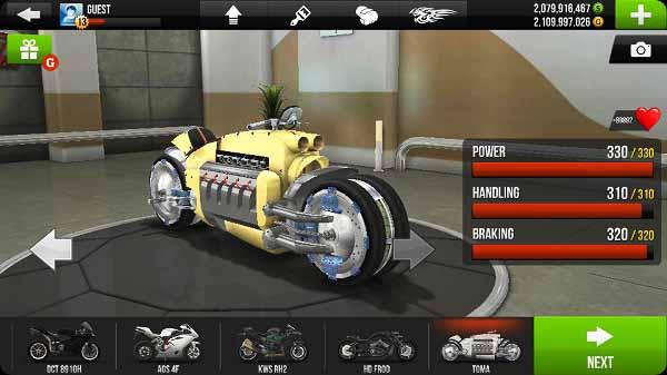 traffic rider hack apk download