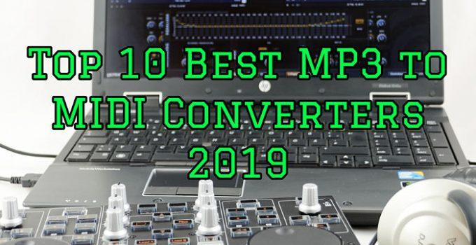 Best MP3 to MIDI Converters
