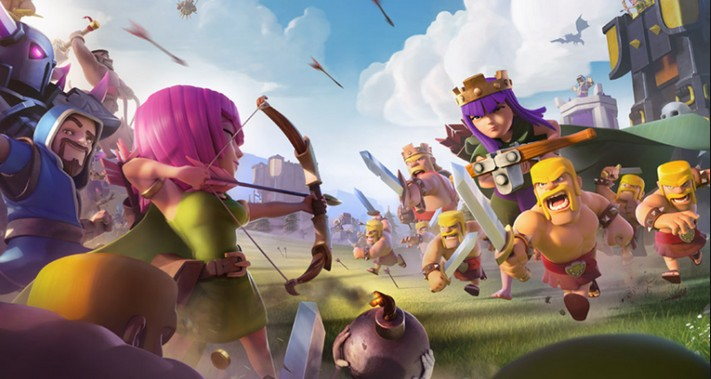 Reset Clash of Clans Game