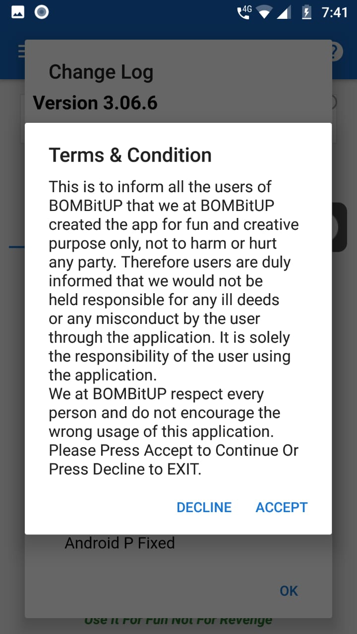 BOMBitUP Installation