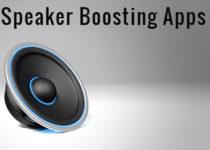 Speaker Boosting Apps