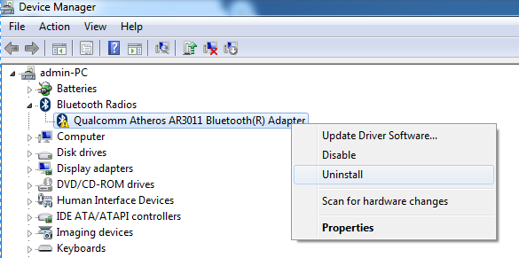 video scheduler internal error windows 7