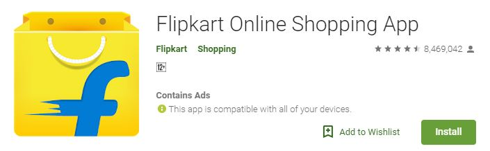 Flipkart App Download For PC Windows