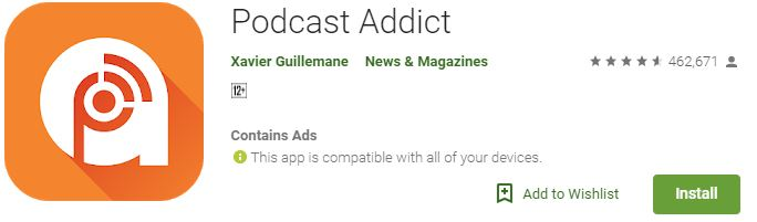 Podcast addict download