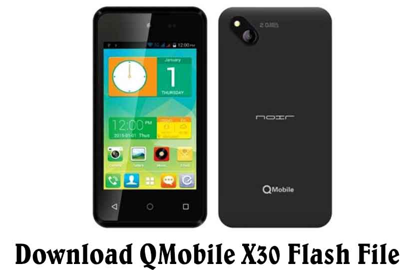 QMobile X30 Flash File