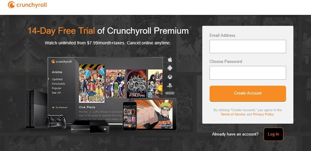 how to get crunchyroll premium free