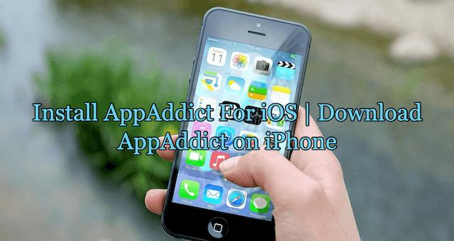 Install AppAddict on iOS