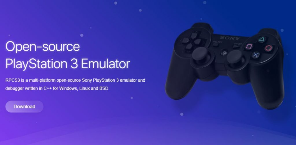 PS3 emulator for windows free download RPCS3
