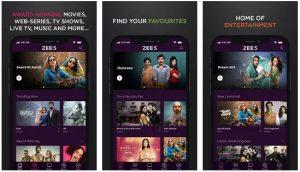 Download Zee5 App For PC – (Windows & Mac)