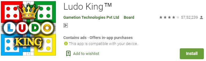 Download Ludo King For Windows Mac