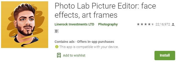 DownloadPhoto Lab Picture Editor For Windows