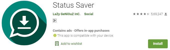 Download Status Saver For PC