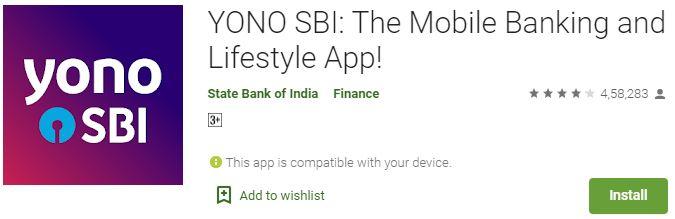 Download Yono SBI For PC