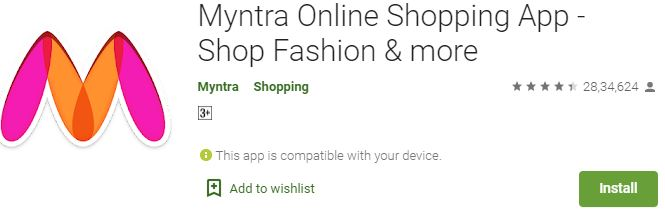 How to Download Myntra For Windows