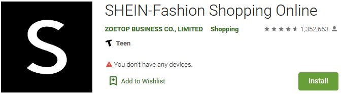 How to Download SHEIN-Fashion Shopping Online For Windows