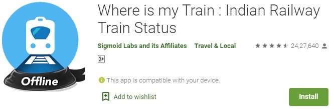 How to Download where is my train app for Windows